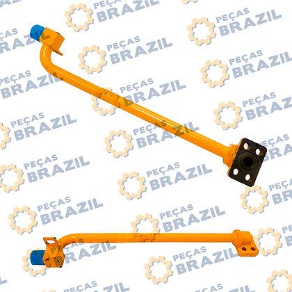 10L0038 / Tubo Traseiro Cilindro de Elevação L.E LiuGong CLG816 / PB33292 / Peças Brazil