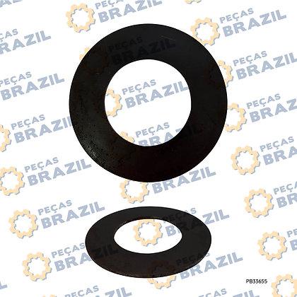 LG6085.15-04 / Calço de Ajuste Ø61X110X3.0MM LonKíng CDM6150 / PB33655 / Peças Br