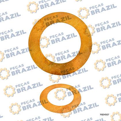 3050900022 / Arruela de Ajuste Engrenagem Lateral Maior SDLG Lg933/936/938 / PB34507 / Peças Brazil
