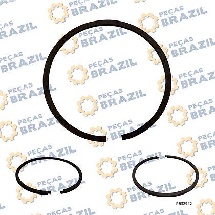 80A0019 / Anel De Vedação De Aço 65 X 74 X 3 / PB32942 / Peças Brazil