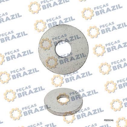 4040000001 / Arruela Lisa SDLG / PB35046 / Peças Brazil / M12X45X6