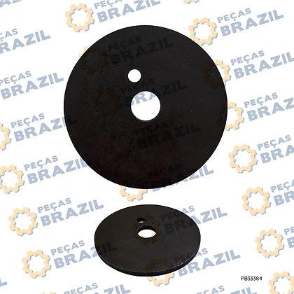175980A1 / Arruela de Encosto do Cubo LiuGong CLG612H / PB33384 / Peças Brazil / SP116097 / 644650