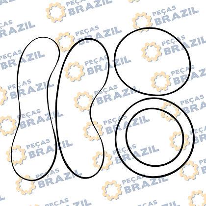 2030900061 /Vedação Pistão da Transmissão SDLG LG936 / PB34796 / Peças Brazil / 3030900143 / 3030900163 / 3030900113 / 20309