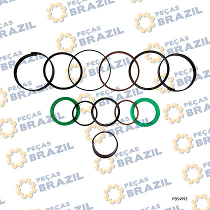 W42098060 / Kit Reparo Cilindro De Inclinação 100x70 SEM618B / PB34993 / Peças Brazil / 5544436