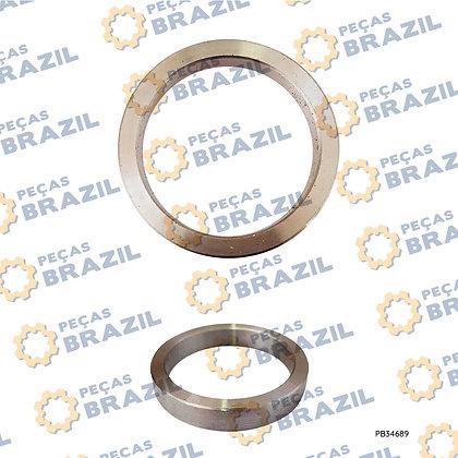 29250006521 / Calco da Articulação SDLG LG918 / 50X65X10 / PB34689 / Peças Brazil