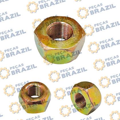 03b0201 / Porca Da Roda LiuGong / PB33394 / Peças Brazil / ESO-MEG-0002 / M20X1,5 / 57307