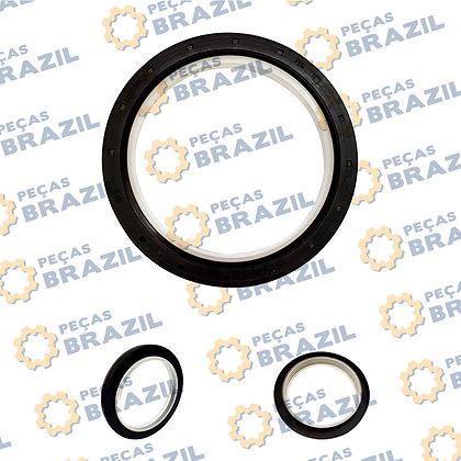 SP100510 / Retentor Traseiro do Motor / 105X130X12 / W018100231/LR090100/SP100510/SP154315/07840BRAGF/5363914/2T2311113/07343