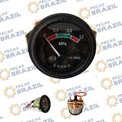 PB32057 / MANOMETRO DE PRESSAO / FREIO/SEM616/CDM816/W110002780/LG853.15.25