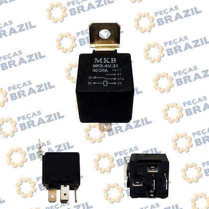 31B0059 / Rele Auxiliar LiuGong / PB33844 / Peças Brazil / 31V0014