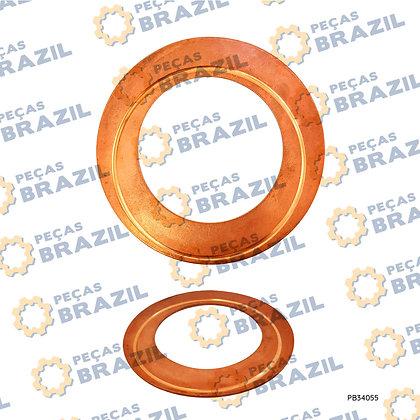 75201604 / Arruela De Ajuste Caixa Satélite / PB34055 / Peças Brazil / ZL30G (MAIOR)/W043100360/75201604/860115538/5370332