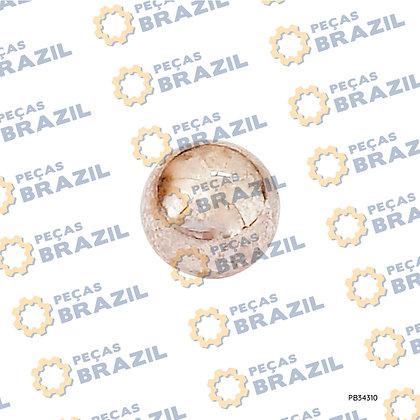 20B0097 / Esfera De Aço LiuGong CLG922 / PB34310 / Peças Brazil / XKAH-00033 / JISB1501-7