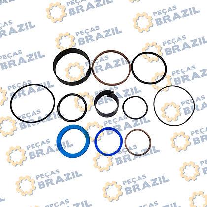 SP00016 / Kit Reparo Cilindro Inclinação LiuGong CLG816 / PB32435 / Peças Brazil / SP104032 / SP00016 / 10K0012