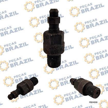 408104 / Conexão da Pinça de Freio ZL15 / PB34008 / Peças Brazil / SP105374 / 408104 / W040101820 / 7200000183