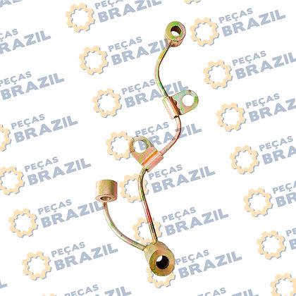 YTR3105G1.060200 / Tubo Lubrificação Engrenagens YTO Fase I / PB35016 / Peças Brazil