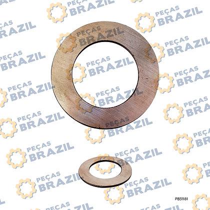 SP113253 / Arruela do Eixo da Planetária LiuGong CLG816 / PB31181 / Peças Brazil