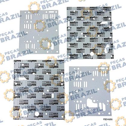 4110000076281 / Kit de Juntas Válvulas De Controle SDLG LG938 / PB34686 / Peças Brazil