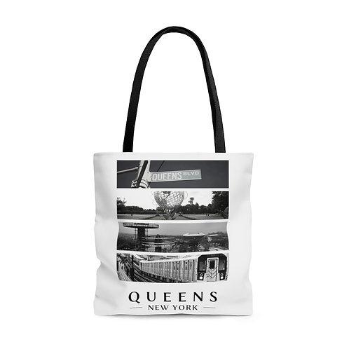 Queens Photos Tote Bag