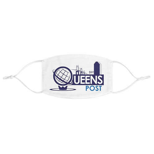 Queens Post Fabric Face Mask