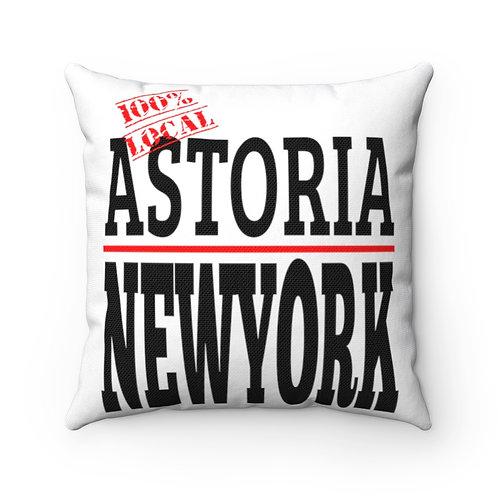 Astoria NY Square Pillow