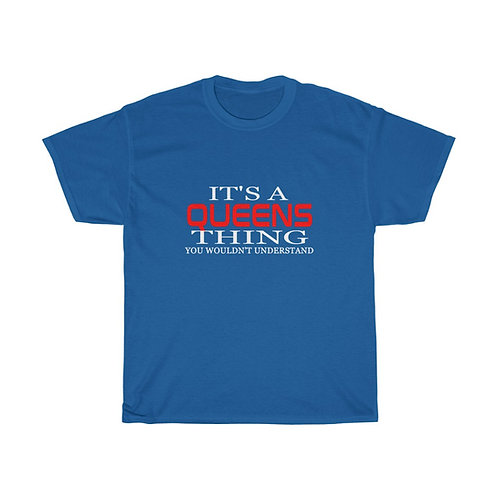 Queens Thing Heavy Cotton Tee