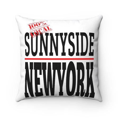 Sunnyside NY Square Pillow