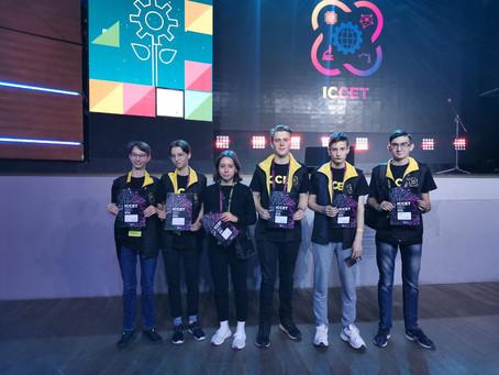 Мы в числе победителей ICCET - 2019!