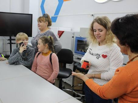 Ребята из Волгореченской школы побывали в технопарке.