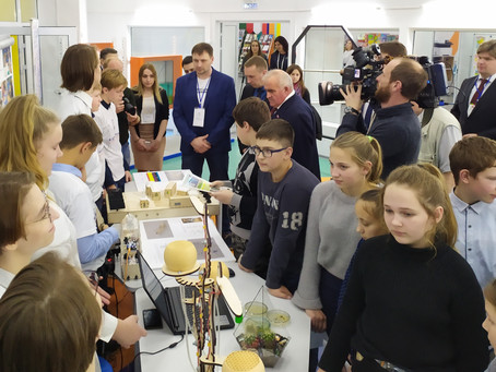 """Детский технопарк """"Кванториум"""" посетили участники регионального Чемпионата WorldSkills"""