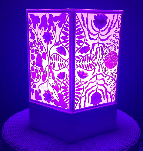 paper cut mood light