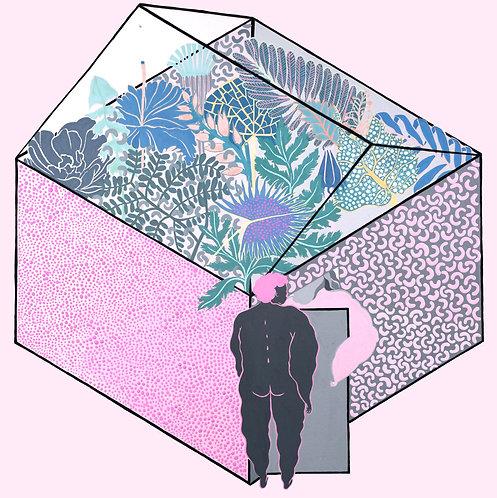 pink greenhouse