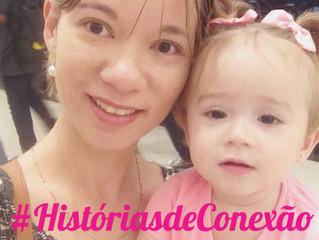 História da mamãe Eline e sua filha Lara
