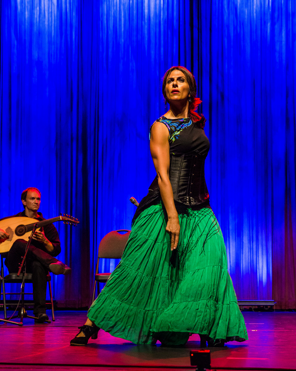 Flamenco Borealis with Arabic music