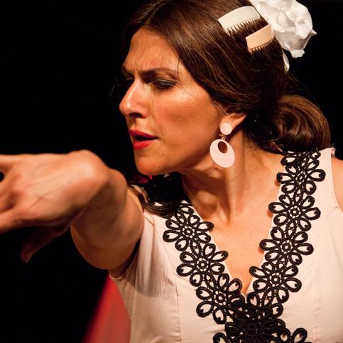 Flamenco Borealis dancer