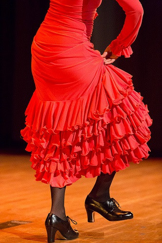 Flamenco dance a day keeps the doctor away.