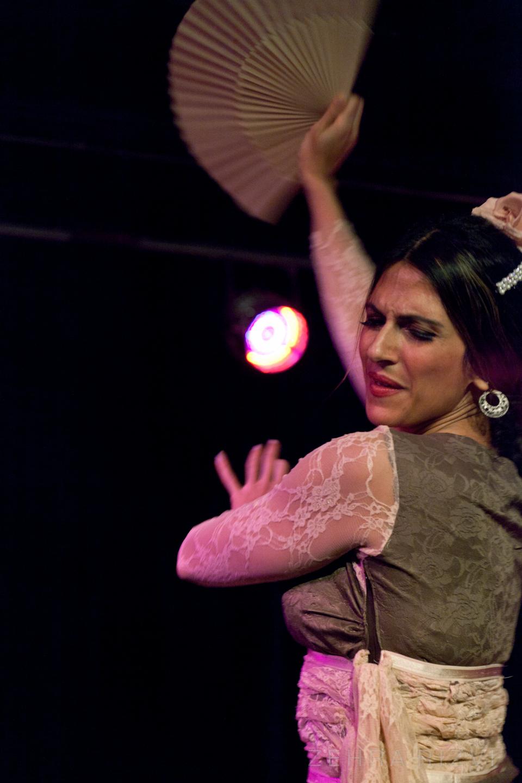 Flamenco abanico