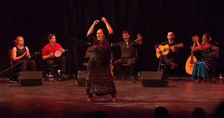 Francesca Canalizo in Al Andalusi - Flamenco Borealis