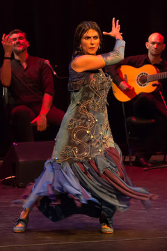 Flamenco dancing Persephone theatre - Flamenco Borealis