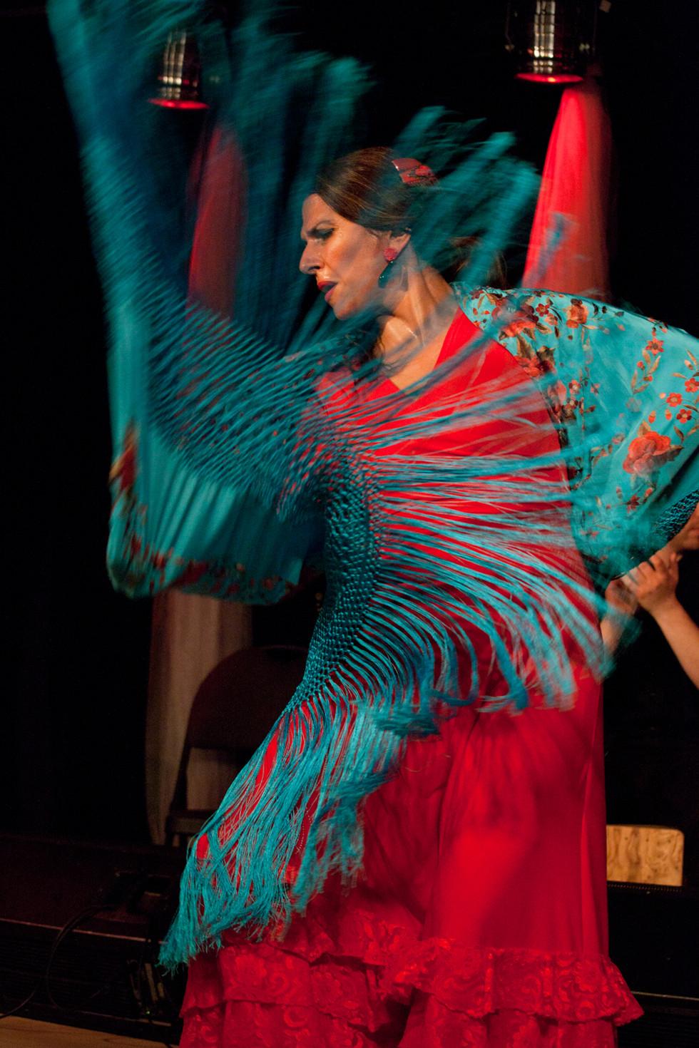 Flamenco Borealis with shawl dance