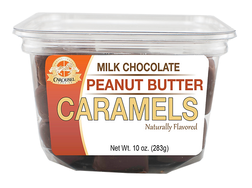 Milk Chocolate Peanut Butter Caramels - 10 oz.