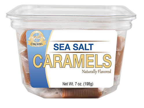 Sea Salt Caramels - 7 oz. Tub