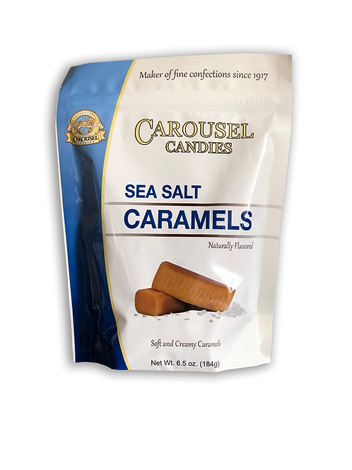 Sea Salt Caramels - 6.5 oz. Bag