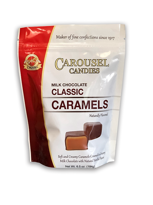 Milk Chocolate Classic Caramels - 6.5 oz. Bag