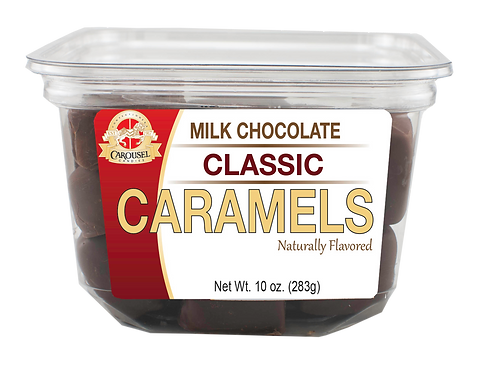 MilkChocolate Classic Caramels - 10 oz. Tub