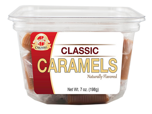 Classic Caramels - 7 oz. Tub