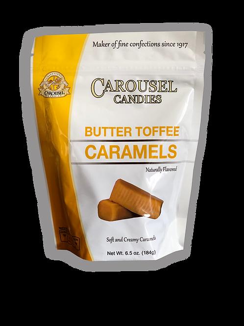 Butter Toffee Caramels - 6.5 oz. Bag