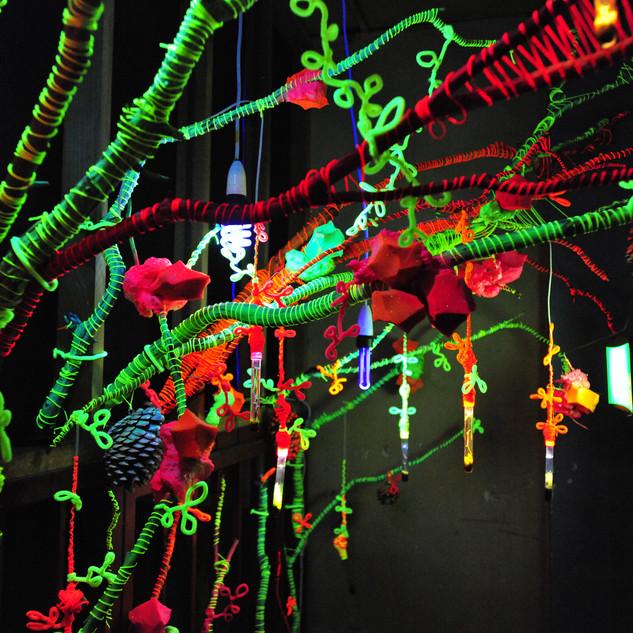 Aimee Fairman - Installation for Sensory Overload GSPF 2012