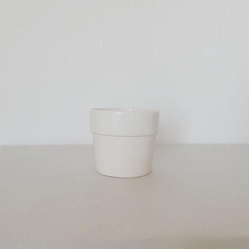 Кашпо WHITE