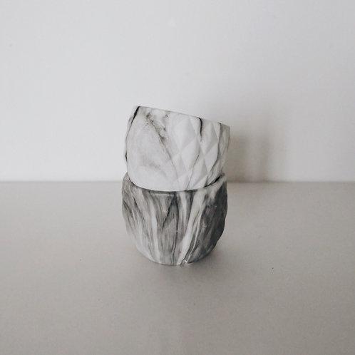 Керамический горшок MARBLE