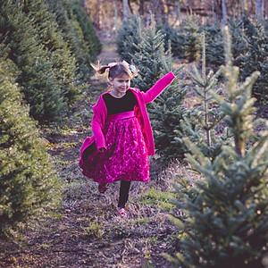 Emily & Kids Xmas Tree Minis