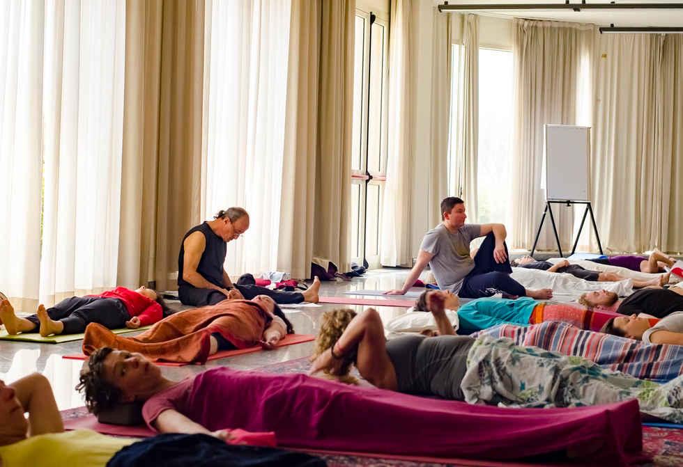 Yoga Nidra au stage d'été en Sicile